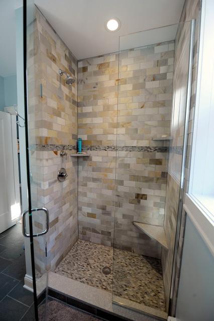 Lakefront Condo Guest Bath contemporary-bathroom