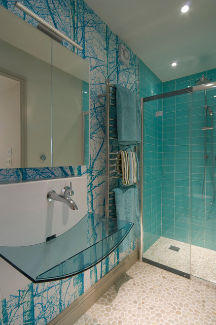 Lakeland Town House Contemporary Bathroom Other By Fidget Design