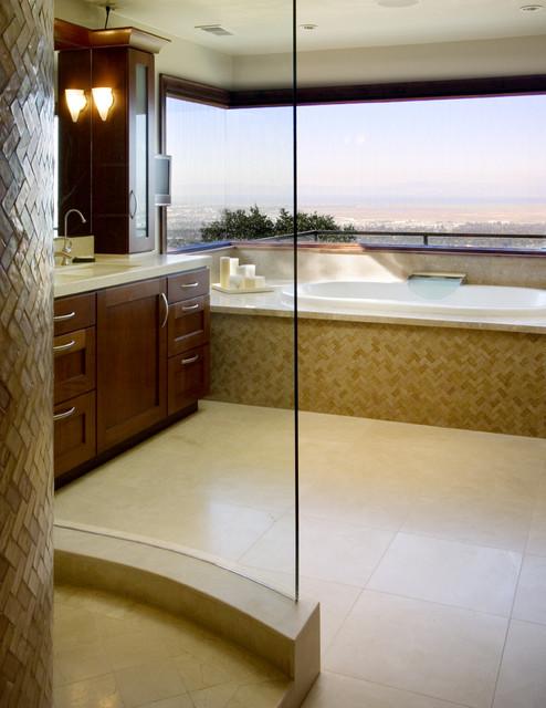 Lakemead Way contemporary-bathroom