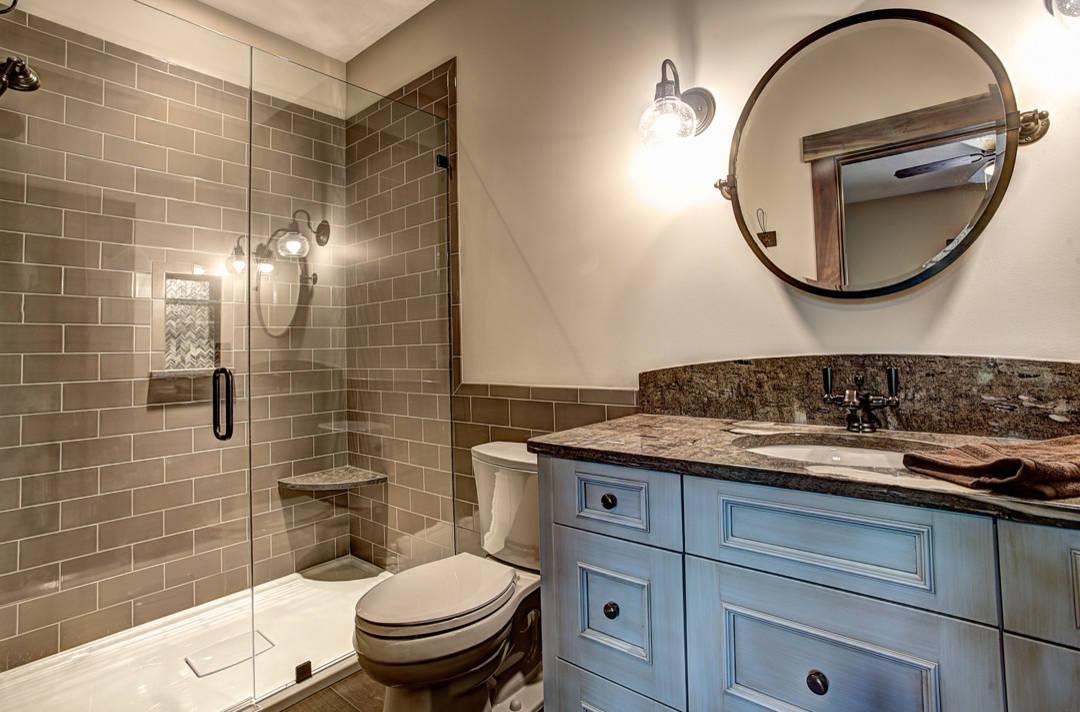 Blue And Brown Bathroom Ideas Houzz, Blue Brown Bathroom Ideas