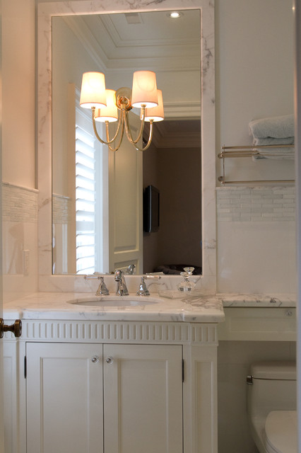 Lakeshore Residence Traditional Bathroom Toronto