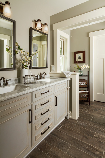 Lakeside Farmhouse Traditional Bathroom Minneapolis By Fluidesign Studio