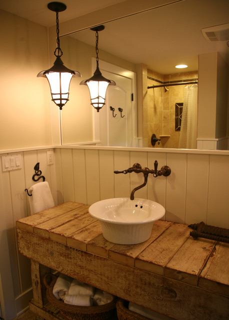 Lakeside Guest House Eclectic Bathroom Milwaukee By Interior Changes Home Design