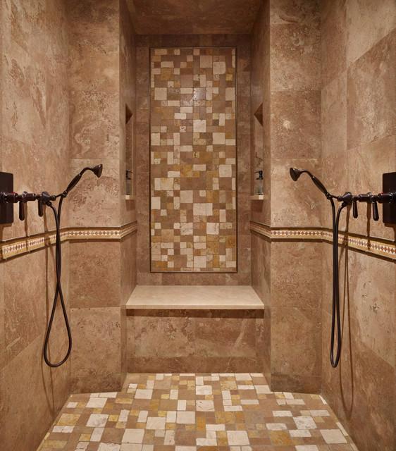 Lakeside Lookout Master Suite mediterranean-bathroom