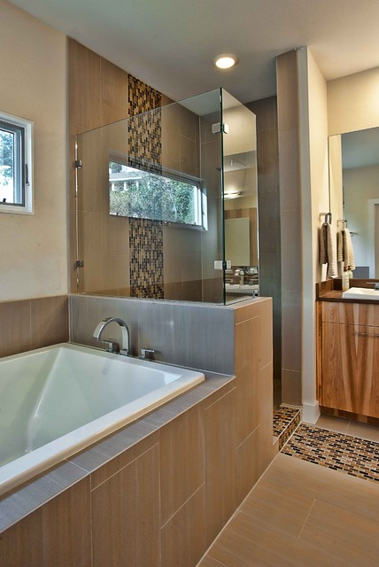 Lakeview Remodel modern bathroom