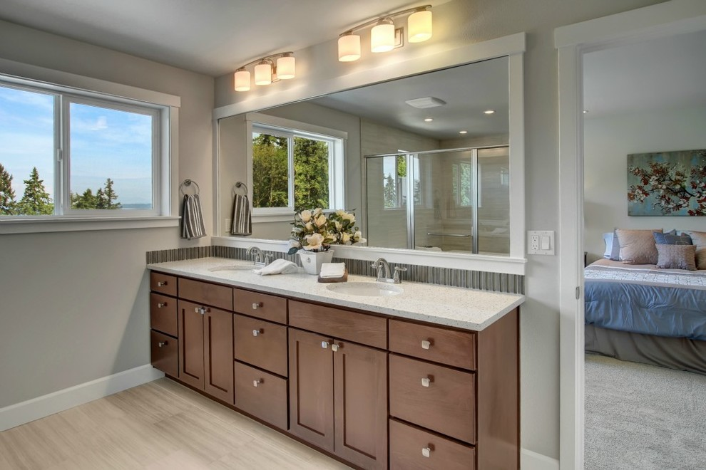 Lakeview Vista - Traditional - Bathroom - Seattle - by ...
