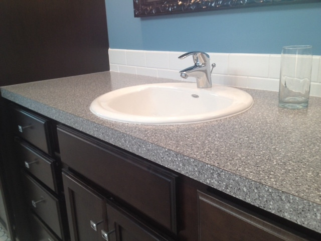 laminate countertops traditional vanity tops and side splashes grand rapids by degraaf