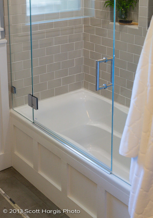 Where Can I Find This Glass Door For The Tub Good For Small Bath