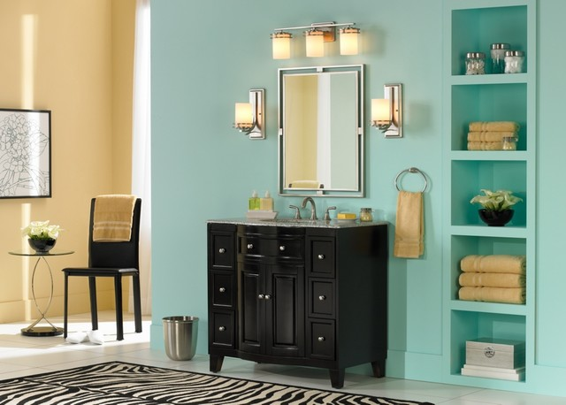 Lamps Plus contemporary-bathroom