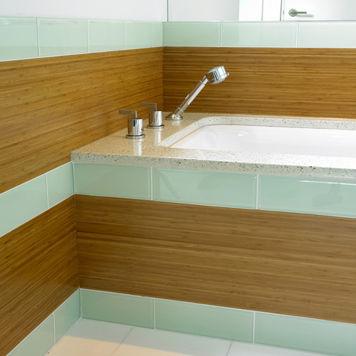 Renew Bathroom Tiles: Beautiful Bamboo In The Bathroom