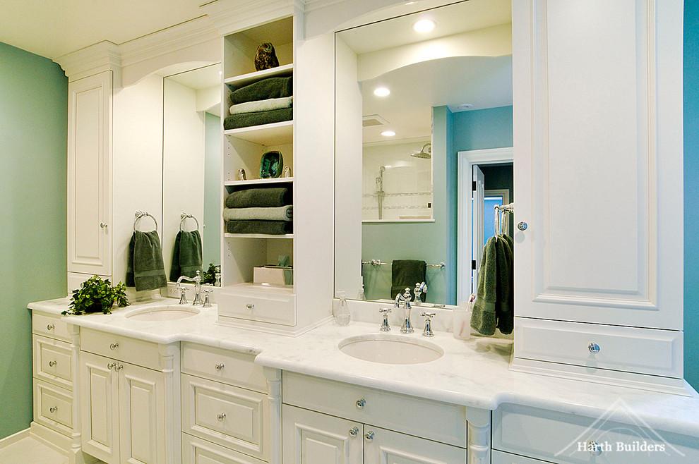lansdale master bathroom  traditional  bathroom