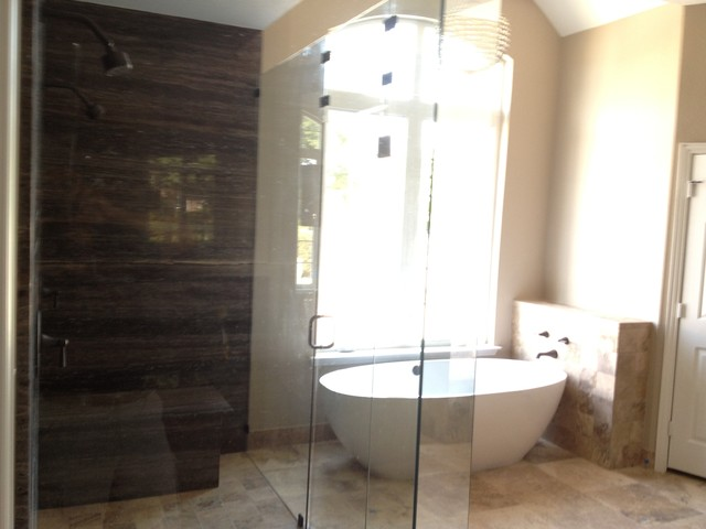Large Master Bath contemporary-bathroom