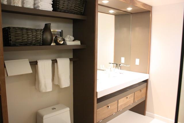 Large Open Bath modern-bathroom