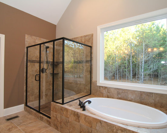 Custom Master Bathroom Home Design Ideas, Pictures, Remodel and Decor