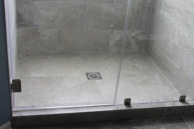 Large Tile Shower Floor