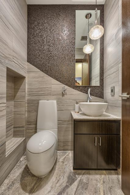 Las Vegas, Mandarin Oriental - Modern - Bathroom - Las Vegas ...