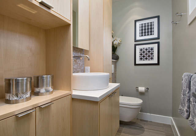 Lauder contemporary bathroom ottawa by dalton for Bathroom design ottawa