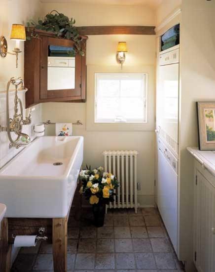 Laundry Room Half Bath Combo Farmhouse Bathroom New