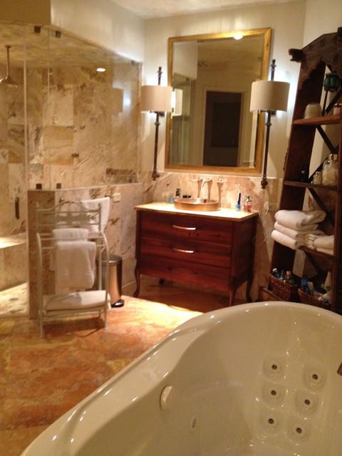 Laura Haims eclectic-bathroom
