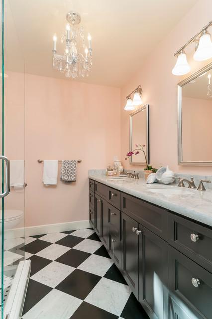 Laurel Ave. Menlo Park traditional-bathroom