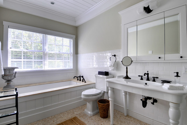 Laurel Hollow Post and Beam Barn Home traditional bathroom. Laurel Hollow Post and Beam Barn Home   Traditional   Bathroom