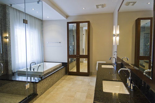 Lavish Luxury contemporary bathroom