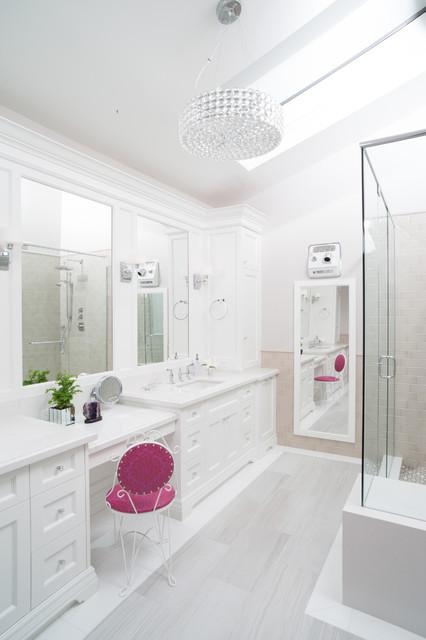 Lawrence park residence transitional bathroom toronto by sacha nizami design - Bathroom design toronto ...