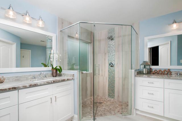 Lawrenceville GA Master Bathroom Remodel November Beach - Bathroom remodeling lawrenceville ga