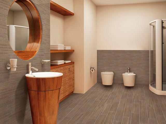 Florim usa bathroom 39 s ideas contemporary bathroom for Bathroom design ideas usa