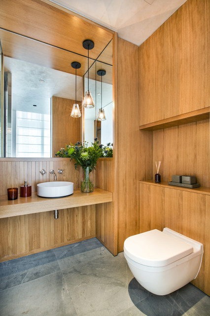 Brewin design office · architects building designers le nouvel ardmore apartment contemporary bathroom