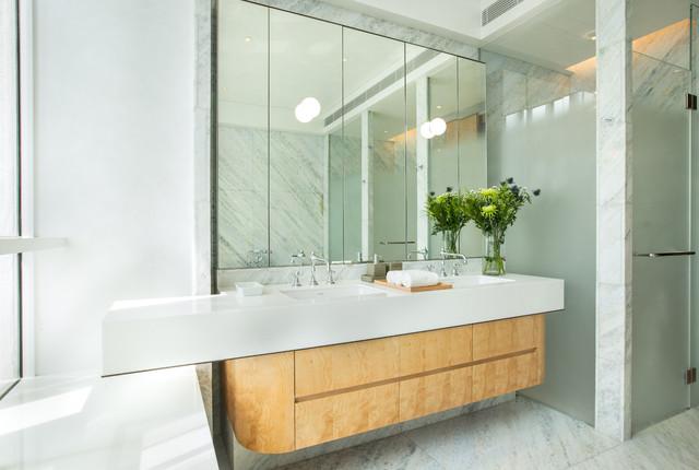 Le Nouvel Ardmore apartment - Craftsman - Bathroom - Singapore - by ...