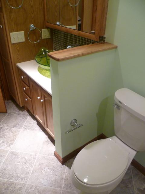 Leaf Bathroom - Contemporary - Bathroom - indianapolis ...