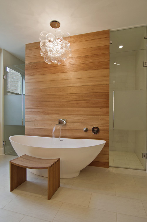 contemporary bathroom Bathroom Lighting Ideas