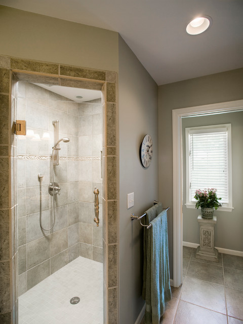 Leawood Master Bath contemporary-bathroom
