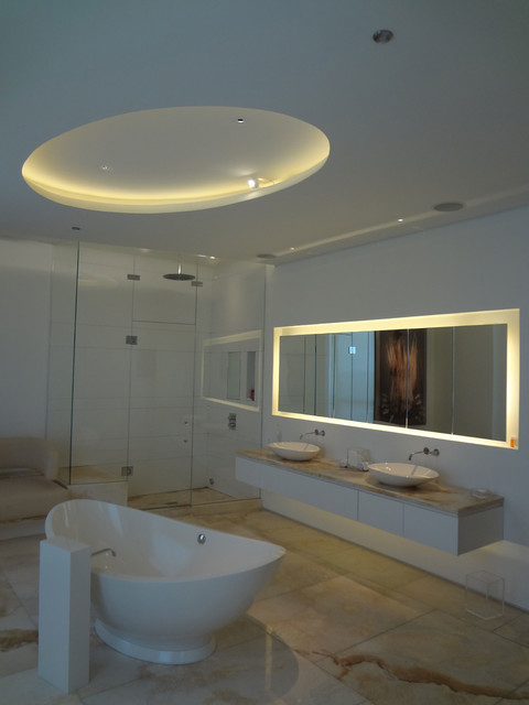 Led soft strip ss2p by edge lighting contemporary for Bathroom strip light
