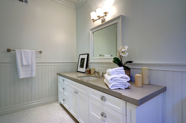 Ledge home modern bathroom los angeles by surfaces usa for Bathroom remodel 8x5