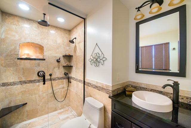 lee in lakewood transitional bathroom denver by cress kitchen bath