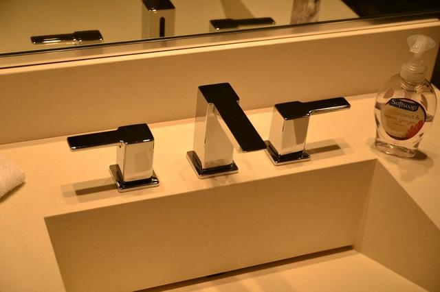 LEED Home contemporary-bathroom