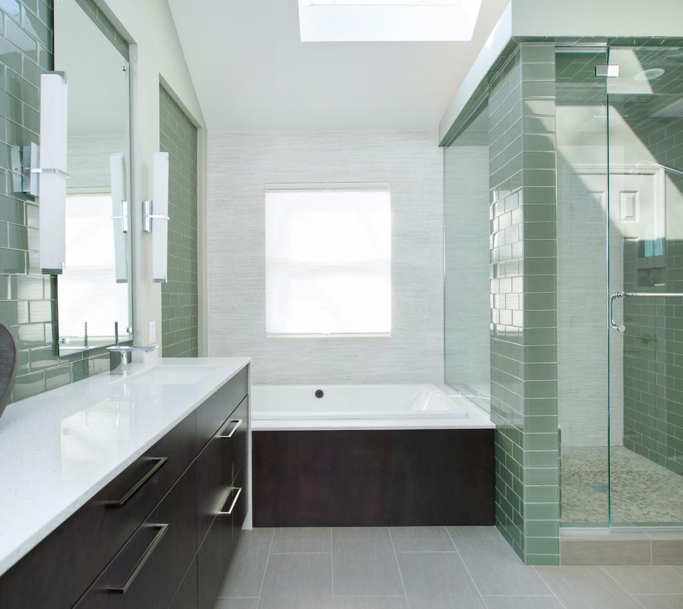 Lenexa, KS Bathroom Remodel - Contemporary - Bathroom ...