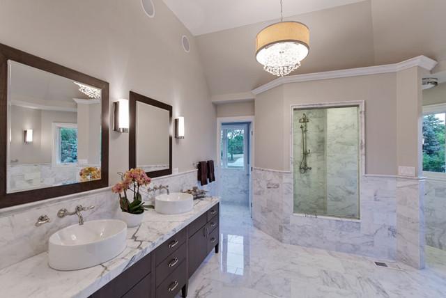 Leng Residence Modern Bathroom Chicago By Jane