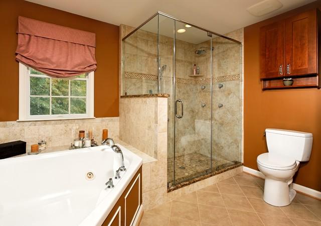 Lensis Builders, Inc. traditional-bathroom