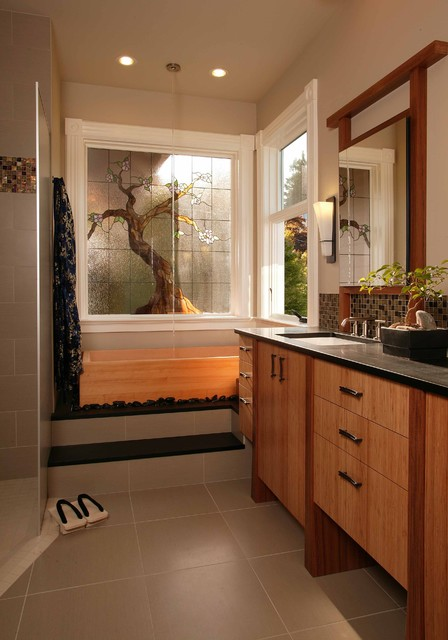 Leslie Jensen, CMKD - asian - bathroom - seattle - by Signature