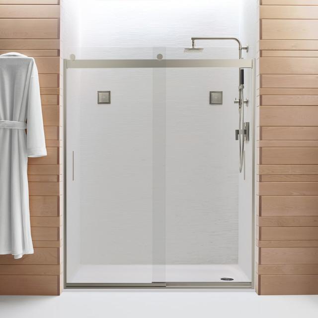 Levity Shower Door by Kohler Modern Bathroom Other by