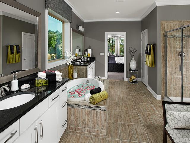 Lexington Plan at Baileys Creek | Raleigh, NC contemporary-bathroom
