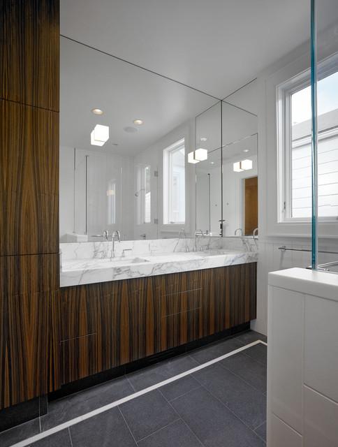 Liberty Hill Residence modern-bathroom