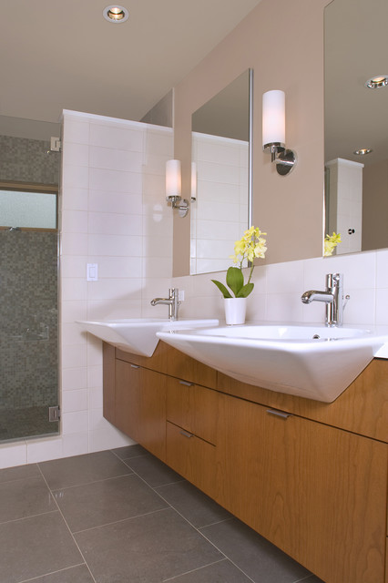 Liberty Lake Residence Contemporary Bathroom Seattle