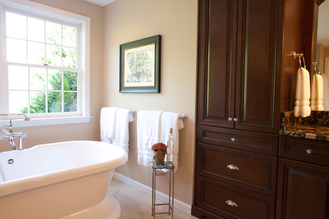 Light And Airy Bath Traditional Bathroom Other Metro