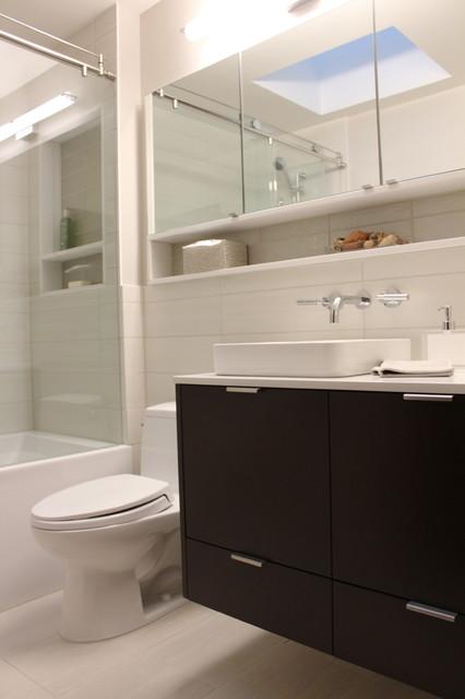 Light Airy Toronto Bathroom Contemporary Bathroom