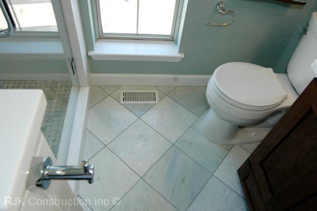 Light Blue Bathroom contemporary bathroom. Light Blue Bathroom   Contemporary   Bathroom   DC Metro   by RJK