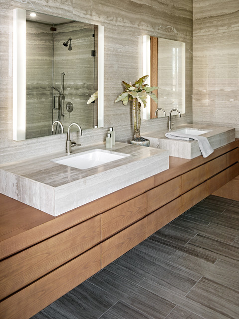 Light Urban Residence contemporary-bathroom